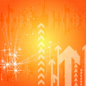 Hight Top Orange Vector Background - бесплатный vector #217439
