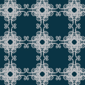 Free Floral Pattern Vector - Free vector #217459