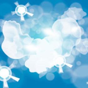Nuage Cloud Free Vector - Free vector #217479