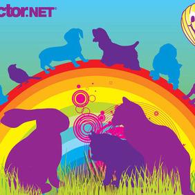 Vector Pets - Free vector #217609