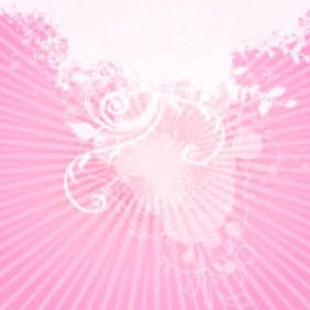 Grunge Swirls Pink Vector - Kostenloses vector #218019