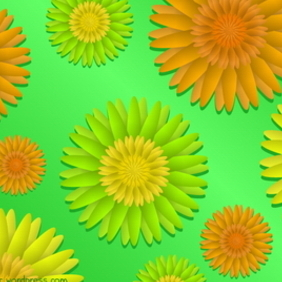 Spring Floral Background - Kostenloses vector #218179