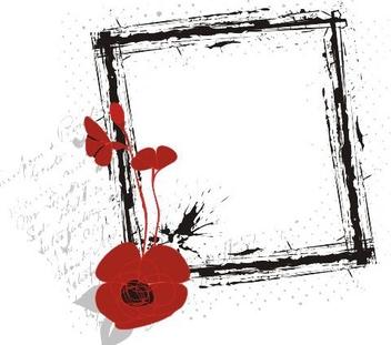 Poppy Banner - Free vector #218309