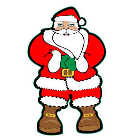 Santa Claus Vector Illustration - vector gratuit #218369