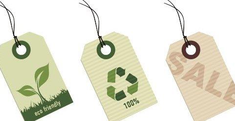 Eco-etiquetas - Free vector #218479