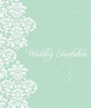 Wedding invitation - бесплатный vector #218699