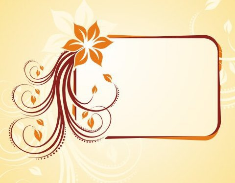 Blumige frame - Kostenloses vector #218799