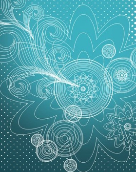 Blue Wallpaper - vector gratuit #218829