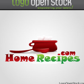 Home Recipies And Cooking Logo - бесплатный vector #219079