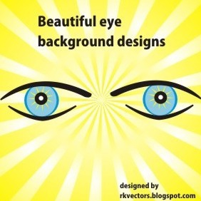 Beautiful Blue Eyes Backgrounds - Free vector #219129