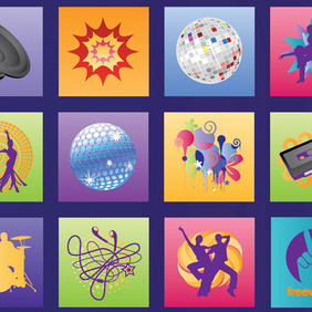 Music Graphics - vector #219219 gratis