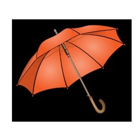 Umbrella Vector Clip Art - бесплатный vector #219249