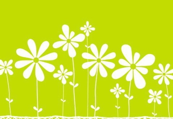 Flower meadow - Free vector #219439