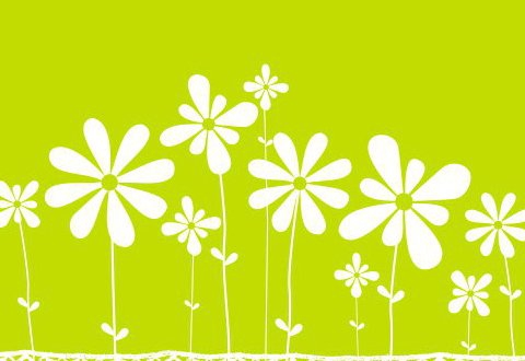 Flower meadow - Free vector #219439