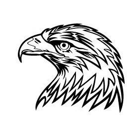 Eagle Head Vector Image 2 - Free vector #219469