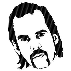 Nick Cave Vector Portrait - Free vector #219979