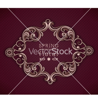 Free floral background vector - Free vector #220129