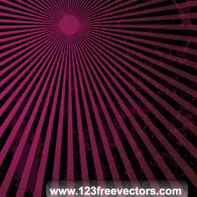 Grunge Sun Burst Vector - Kostenloses vector #220389