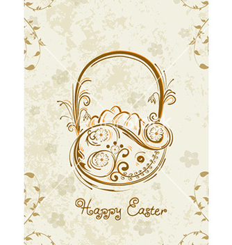 Free basket of eggs vector - Free vector #220399