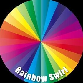 Rainbow Swirl - Free vector #220499