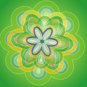 Green Background Vector Graphic - vector #220669 gratis