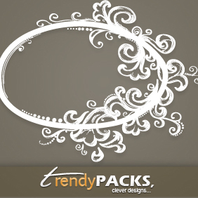 Hand Drawn Ornamental Frames - vector gratuit(e) #220719