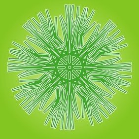 Green Ornament - Free vector #220879