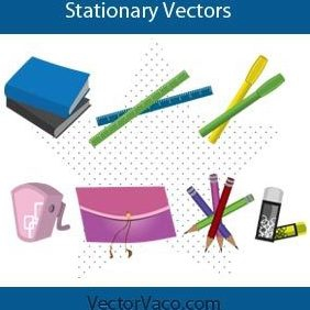 Stationary - Free vector #221029