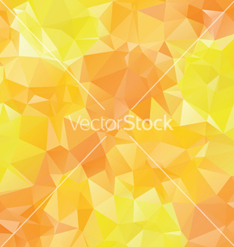 Free yellow orange polygons vector - Free vector #221559
