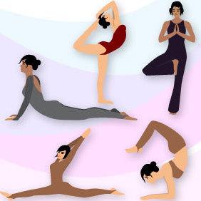 Yoga Vector - Kostenloses vector #221569