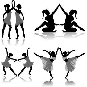 Ballet Dancer - Free vector #221819