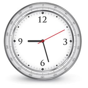 Vector Clock - Kostenloses vector #221829