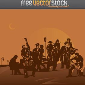 Tango Orchestra Vector - Free vector #221919