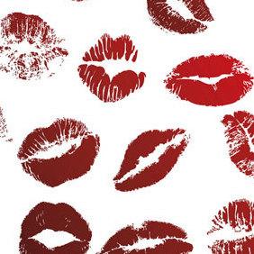 Vector Kiss - vector gratuit #222019