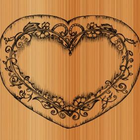 Sketchy Heart Vector - Free vector #222149
