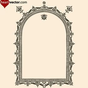 Antique Frame Vector - Free vector #222169