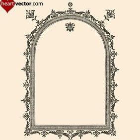 Antique Frame Vector - Kostenloses vector #222169