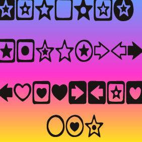 Stars Vectors - Free vector #222359