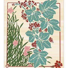 Floral Design - Kostenloses vector #222619