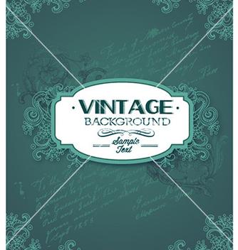 Free vintage vector - Free vector #222689