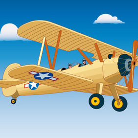 Aircraft Flight - Kostenloses vector #223029