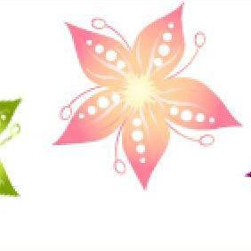 Cimoetz Flower Part I - vector #223089 gratis