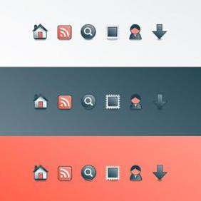 Website Icons - vector #223349 gratis