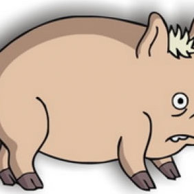 Spider Pig - Free vector #223509