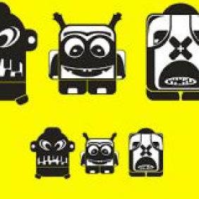 Creatures - бесплатный vector #223779