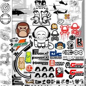 Monkey S Big Ass Vector Pack 2 - Kostenloses vector #223889