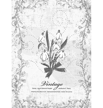 Free vintage background vector - Free vector #224289