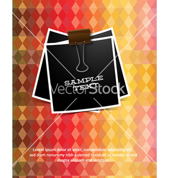 Free with abstract background vector - Kostenloses vector #224809