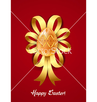Free ribbon with egg vector - Kostenloses vector #224859