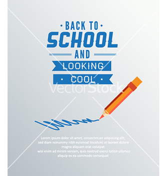 Free back to school vector - Kostenloses vector #225089